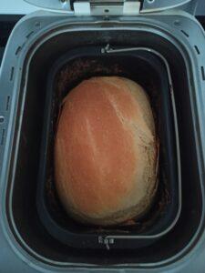 Receta de pan de leche y miel en la panificadora del Lidl, Silvercrest