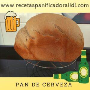 Receta para hacer pan de cerveza en panificadora, la panificadora del Lidl, Silvercrest