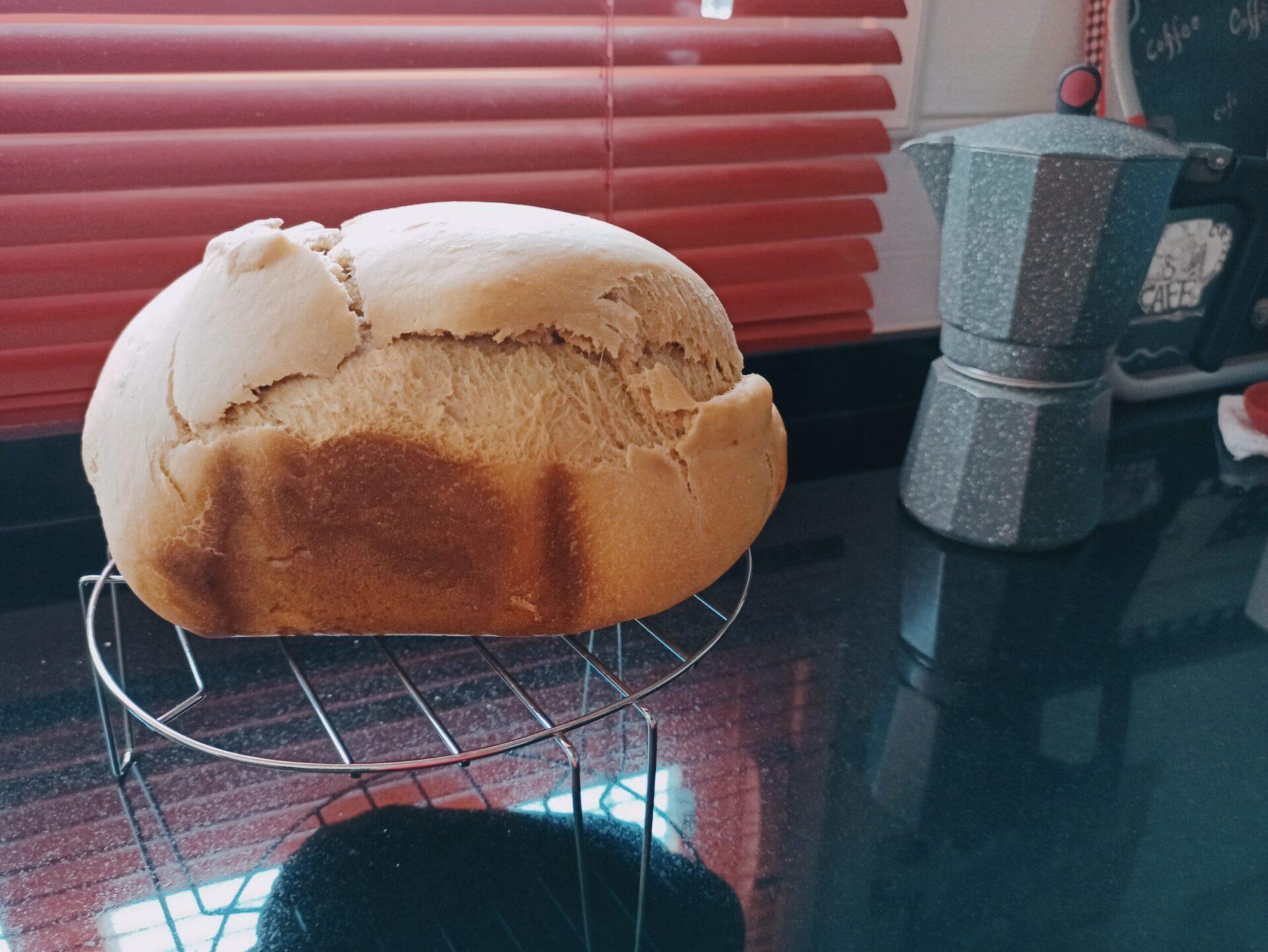 Receta de pan de molde con skyr en la panificadora Silvercrest, la panificadora del Lidl