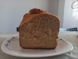 Receta de pan de miel en panificadora Silvercrest, la panificadora del Lidl