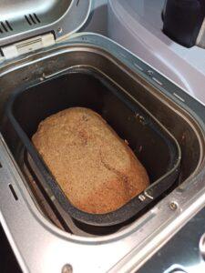 Receta de pan de centeno y espelta en panificadora Silvercrest, la panificadora del Lidl